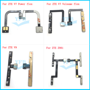 Power On Off Volume Button Key Switch Audio Control Flex Cable For ZTE Zmax Pro Z981 Blade V7 BV0701 V9 Replacement(China)