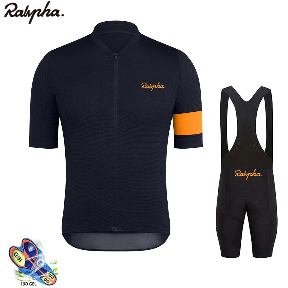 אופני רכיבה רכיבה על אופניים ג 'רזי גברים של קיץ קצר שרוולים לנשימה MTB רכיבה על אופניים ביגוד Ropa Ciclismo אופני ג' רזי סט