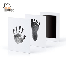 Snailhouse Newborn Baby Handprint Footprint Ink Non-Toxic Touch Ink Pad DIY Photo Frame Souvenir Girl Boy Infant Decoration Toy cheap Printing oil Normal Small 0-3M 4-6M 7-9M 10-12M 13-18M 10-12Y 7-9Y 4-6Y 2-3Y 19-24M 13-14Y mack foot pads foot care cream