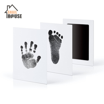 Snailhouse Newborn Baby Handprint Footprint Ink Non-Toxic Touch Ink Pad DIY Photo Frame Souvenir Girl Boy Infant Decoration Toy