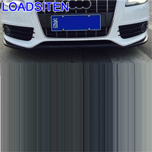Parachoques Auto Car-styling Modification Protector Coche Style Car Molding Bumper Guard Styling Mouldings 09 13 FOR Audi S4