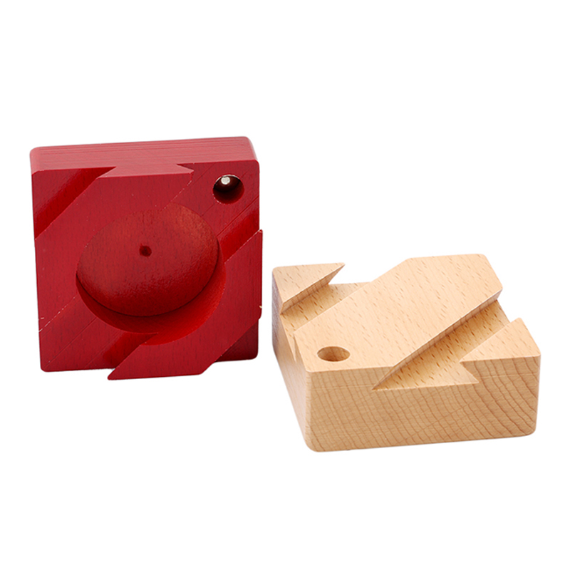 Secret Box IQ Mind Wooden Puzzles Wooden Magic Box Teaser Game Adults Gifts Creative Educational Toys Montessori Kong Ming Lock(China)