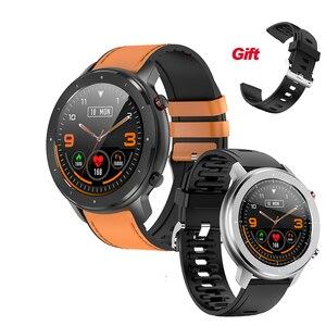 Смарт-часы для мужчин 2020 F22, 1,3 дюйма, Полный Круглый сенсорный экран, шагомер, умные часы для мужчин, пульсометр, браслет DT78