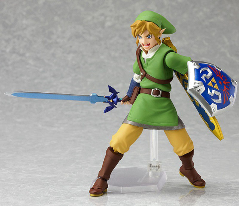 Zelda Skyward Link Action Figure 14cm 9