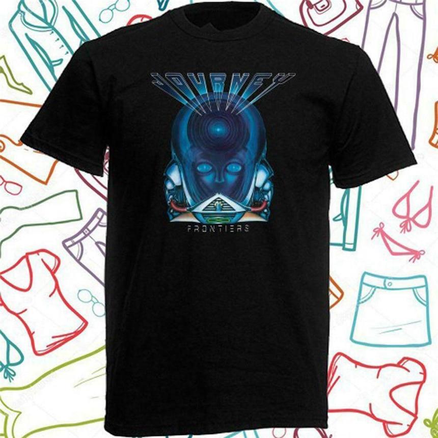 Journey Frontiers Rock Music Adult T Shirt