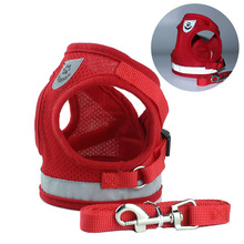 2019 New Dog Leash Vest Pet Chest Strap Reflective Rope Supplies Coat  Jacket Clothes Christmas