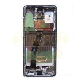 Image 5 - Für Samsung Galaxy S20 Lcd G980,G980F, g980F/DS mit Rahmen Display Touchscreen Digitizer Für Samsung s20 plus LCD G985 G985F