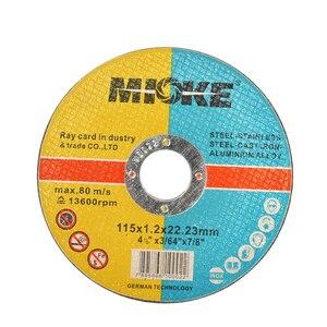 Image 5 - 25pcs/set Thin Metal Cutting Slitting Discs Stainless Steel Sanding Grinding Discs 115mm Angle Grinder Wheel DIY Power Tools