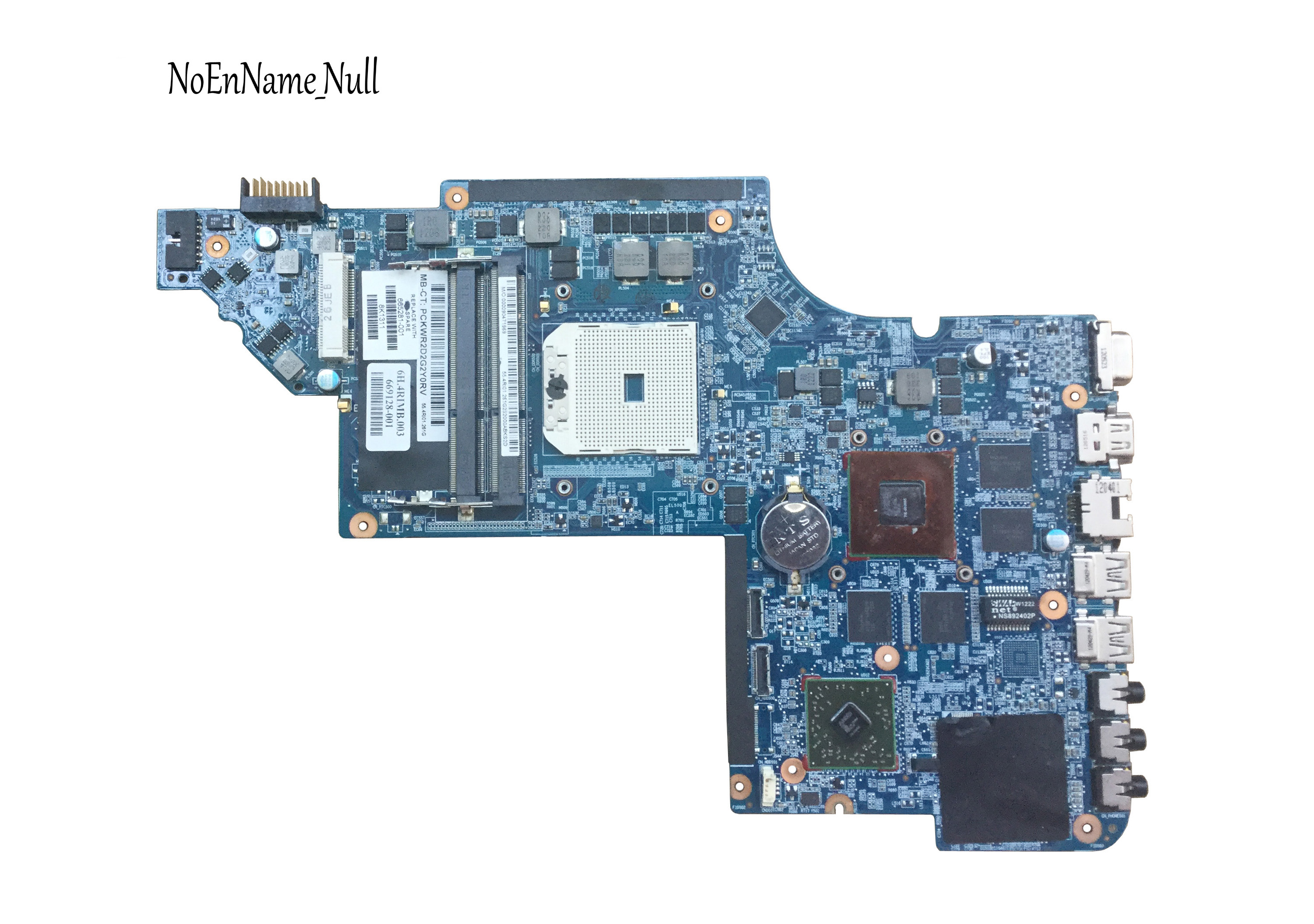 Free Shipping 665281-001 For HP Pavilion DV6 DV6 DV6-6000 Motherboard HD6750M/1G.All Functions 100% Fully Tested !