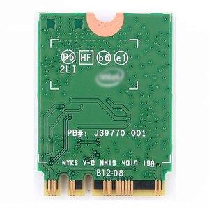 Image 2 - Double bande sans fil pour Intel 9260 carte WiFi 9260NGW 9260AC NGFF M.2 1.73Gbps 802.11ac Bluetooth 5.0 adaptateur réseau Wlan