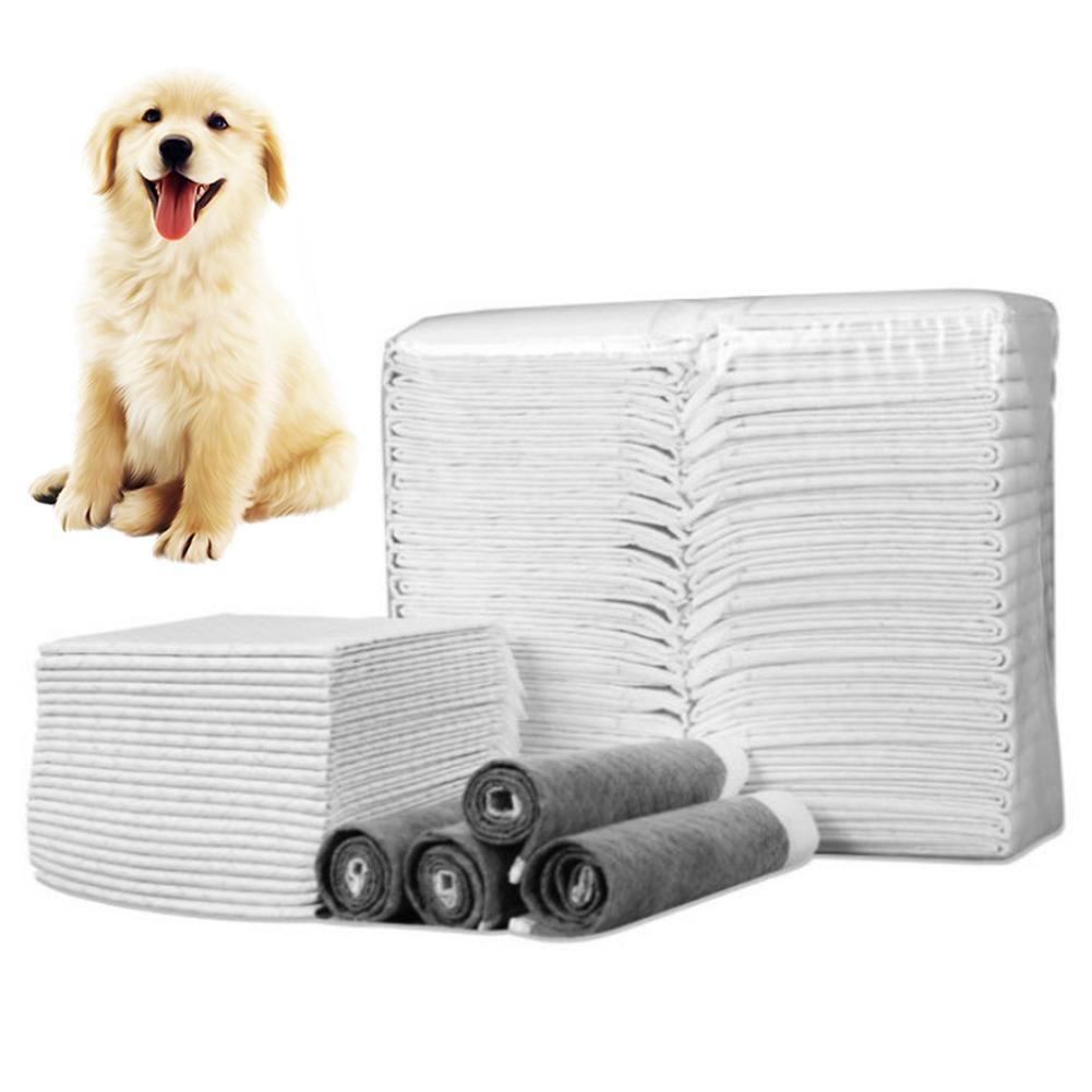 20/40/50/100Pcs Super Absorbent Puppy Dog Wee Pee Pad Mat Disposable Diapers