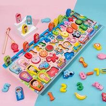 Детские математические игрушки Монтессори Обучающие деревянные