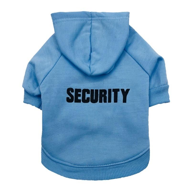 Security Dog Cat Clothes Pet Cat Coats Jacket Hoodies For Cats Dog Outfit Warm Pet Clothing Rabbit Animals Pet Sweatshirt 19