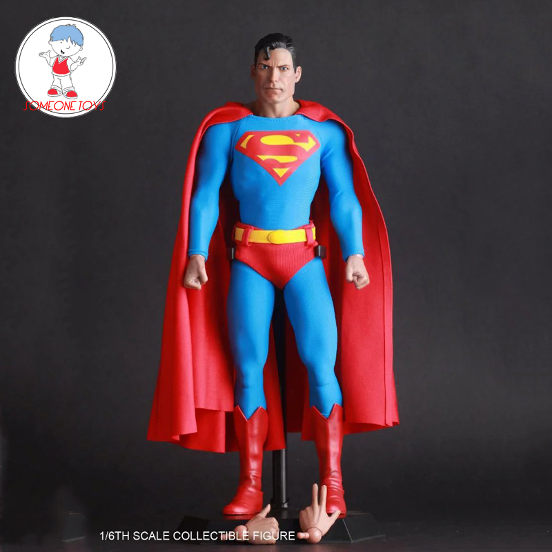 1/6 Scale Superman Christopher Reeve Action Figure Whole Set Doll Collection Model Toys For Collection Toys Gifts