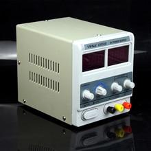 цена на YIHUA 1502DD 220V 15V 2A Adjustable DC Power Supply LED Display Mobile phone repair test regulated power supply Free shipping