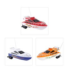 C101A Mini Radio Remote Control RC High Speed Racing Boat Sp