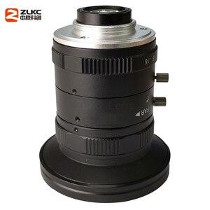 Image 3 - 새로운 모델 8mm 머신 비전 고정 초점 카메라 렌즈 5 메가 픽셀 hd cctv 렌즈 1 인치 f1.4 수동 아이리스 c 마운트 낮은 왜곡 렌즈