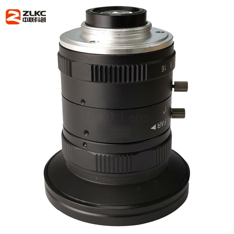 Image 3 - New Model 8mm Machine Vision Fixed Focal Camera Lens 5Megapixel HD CCTV Lens 1 Inch F1.4 Manual Iris C Mount Low Distortion Lens-in CCTV Parts from Security & Protection