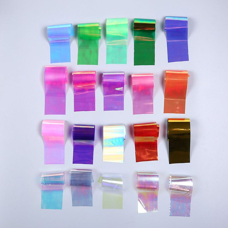1 Set Shiny Magic Color Aurora AB Effect Reflective Mirror Paper DIY Epoxy Resin Jewelry Fillings Resin Mold Jewelry DIY