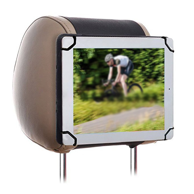 Universal Adjustable Tablet Case Car Back Seat Headrest Mount Holder For 9.6-10.1 Inch IPad Tablet PC Sturdy Portable Durable
