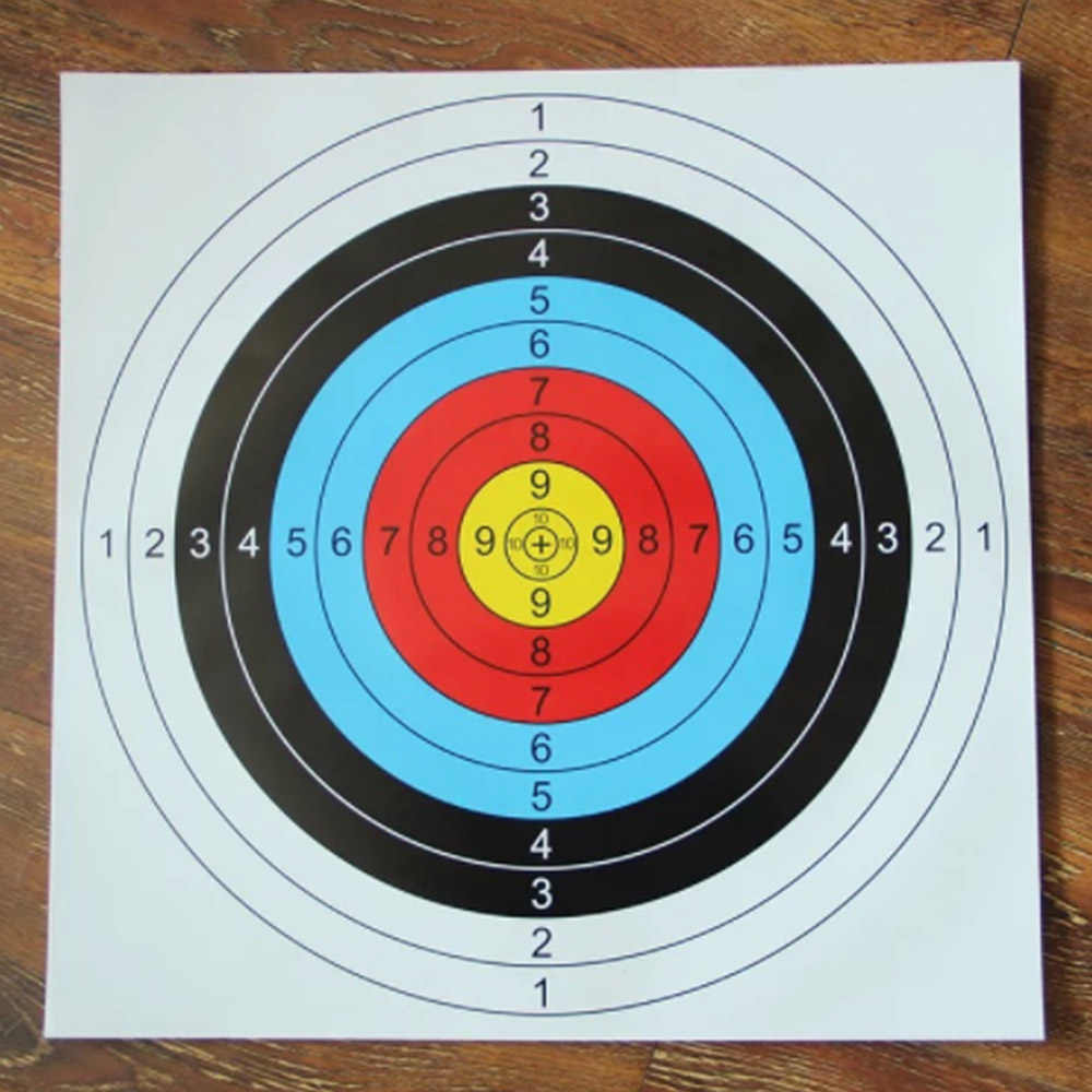 40 سنتيمتر 60 سنتيمتر مفيدة مهنة الرماية الأهداف ورقة حلقة كاملة المبتدئين القوس السهم مقياس الرماية الهدف HOT البيع