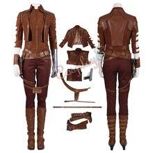 Костюм туманности Мстители 4 эндшпиль косплей костюм для девочек крутой полный комплект