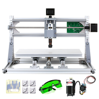 5500mW High Quality Mini CNC DIY Wood Carving Milling Laser Engraving Machine for PCB PVC with ER11 Collet & Protective Glasses