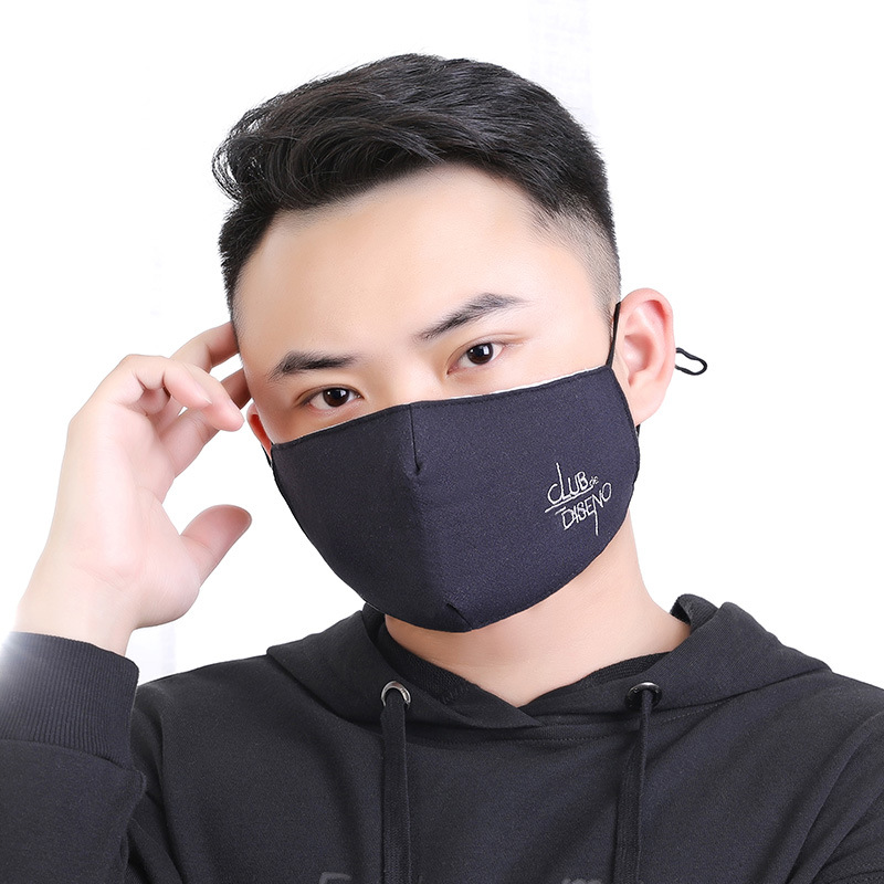 10pcs/Pack Warm Mask Autumn And Winter Thickened Three-dimensional Ventilation Fashion Dust-proof Student Mask Maski