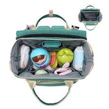 Plecak torba dla mamy z przewijakiem i łóżeczkiem przenośnym