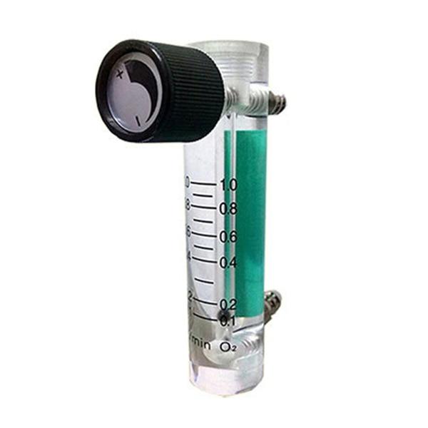 Oxygen Flow Meter Flowmeter with Control Valve for Oxygen Air Gas|Flow Meters| |  - title=