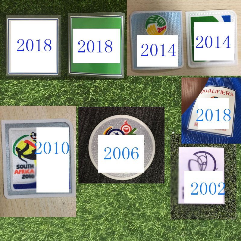 2002, 2004, 2006, 2010, 2014, 2018, нашивка для чашки, термотрансферный футбольный значок