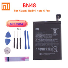 100% Original Phone Battery for Xiaomi redmi Note 6 Pro BN48 Batteries Red rice Note6 Pro bateria Battery недорого