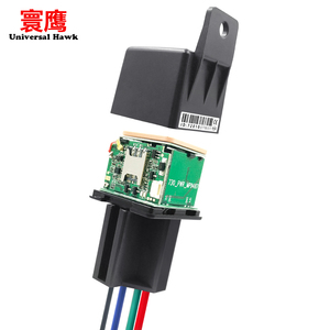 9-95V Car Relay GPS Tracker hide Tracking Device Locator Remote Control Anti-theft Monitoring Cut off oil power System APP(China)