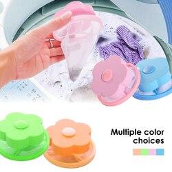 Pływające usuwanie włosów Catcher filtr siateczkowy pokrowiec samoczyszcząca się kula torba brudne włókno kolektor umyć filtr do maszyny kula do prania dyski| |   -
