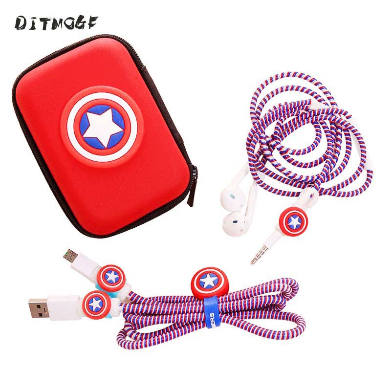 font-b-marvel-b-font-avengers-captain-america-bouclier-spider-man-fer-homme-batman-superman-chargeur-cordon-de-protection-corde-casque-enrouleur