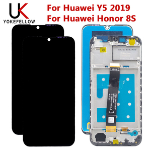 Image 1 - Affichage daffichage à cristaux liquides pour laffichage daffichage à cristaux liquides de Huawei Y5 2019 avec lassemblage de convertisseur analogique numérique décran tactile pour laffichage daffichage à cristaux liquides de remplacement de Huawei Honor 8S