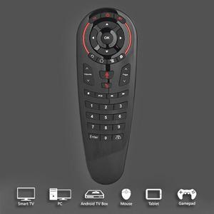 Image 5 - G30 sinek hava fare sesli uzaktan kumanda 2.4G kablosuz klavye için USB alıcı ile kablosuz uçan sıçan 6 eksenli jiroskop sensörü