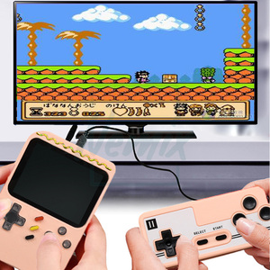 Image 4 - Video Game Console, Handheld Portable Console,  Built in 400 Retro Games, Support Double Player, Gift For Kids, 2020 New Upgrade