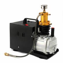 220V 1.8KW 40 Mpa Electric Air Compressor High Pressure Air Pump pneumatic Airgun PCP Inflator With high pressure safety valveH#