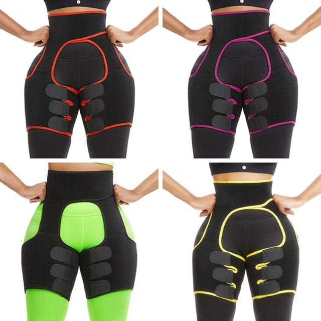 Slim Sweat Thigh Trimmer Leg Shapers Slender Slimming Belt Sweatband Shapewear Toned Muscles Band Thigh Slimmer Wrap