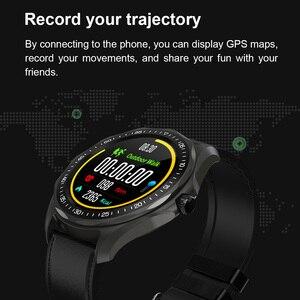 Image 4 - S09 akıllı saat IP68 su geçirmez erkek nabız monitörü kan basıncı spor izci GPS harita Android iOS için Smartwatch