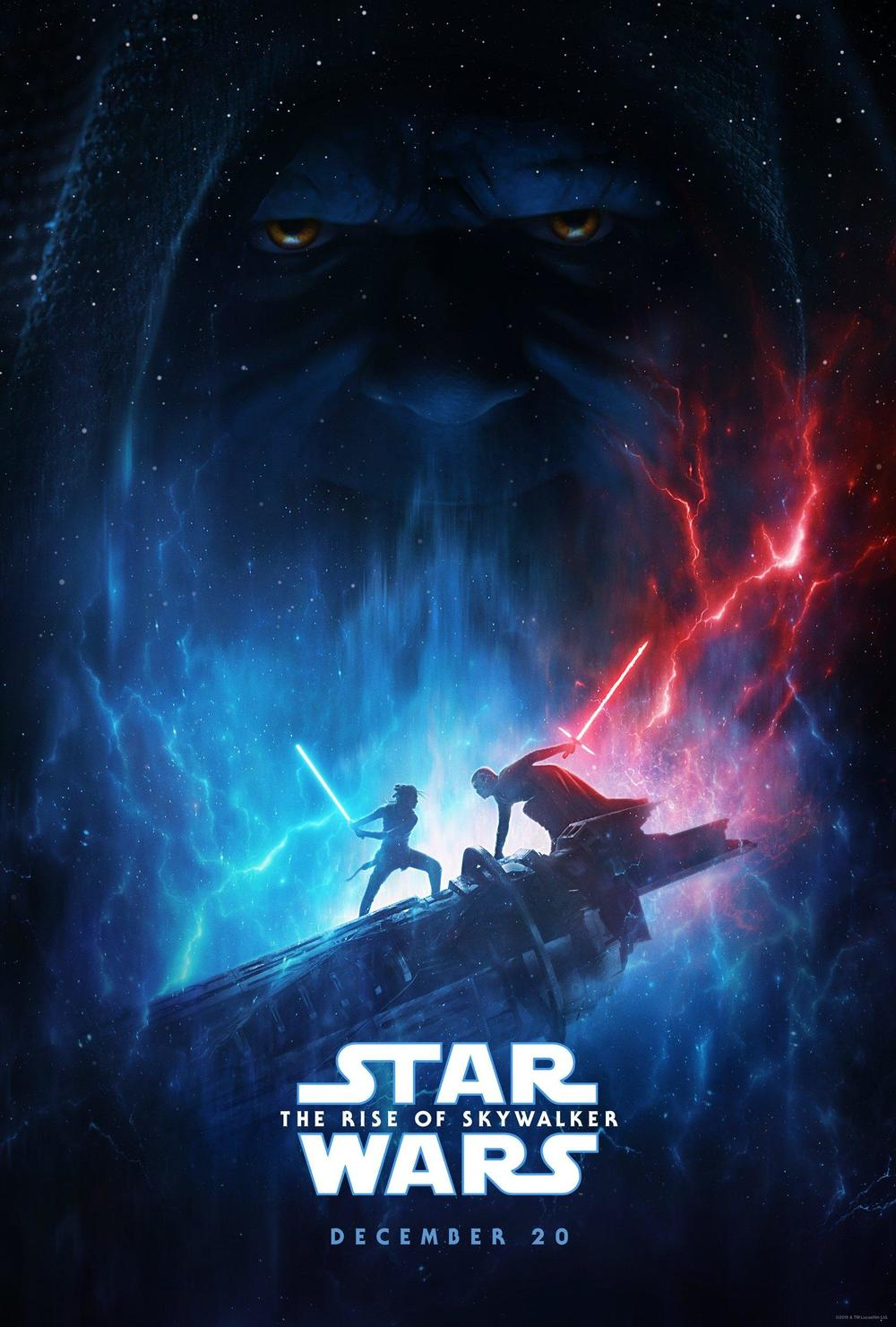 Star Wars: The Rise of Skywalker 2019 NEW movie Silk poster Decorative Wall painting 24x36inch image