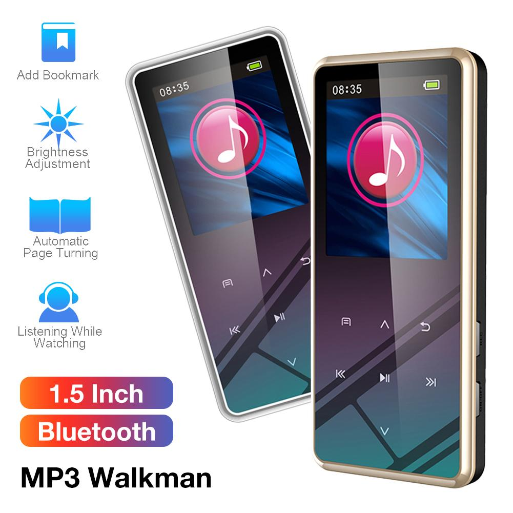 Mp3-Player Walkman Radio Bluetooth-Speaker Touch-Screen Hifi Mini Mp3 Sport Mp 3 Metal