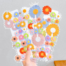 6Pcs/Set New Cute Knitting Flower Hair Clips For Girls Kids Sweet Hairpins Barrettes Hair Decorate Fashion Hair Accessories