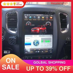 Image 2 - Android 9.0 4+64G Tesla style car GPS Navigation for Dodge Durango 2010 2020 Auto radio tape recorder headunit Multimedia player