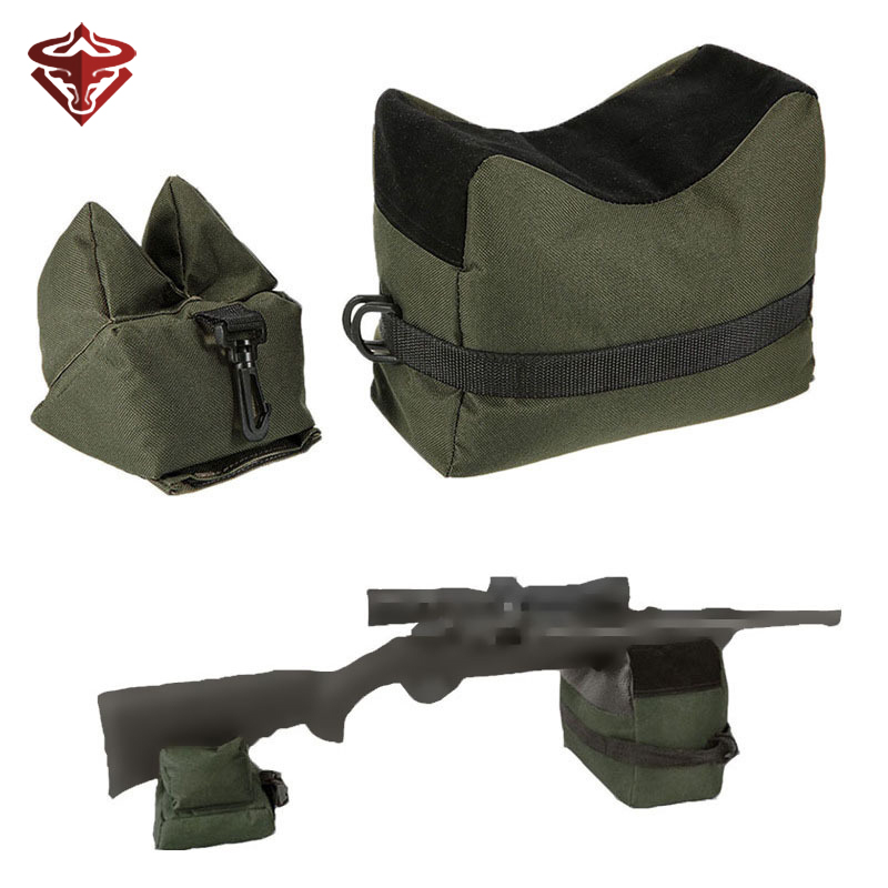 Tactical Sniper Shooting Gun Rest Bag Set Front & Rear Rifle Target Bench Unfilled Stand hunting accessories  tactical wallet