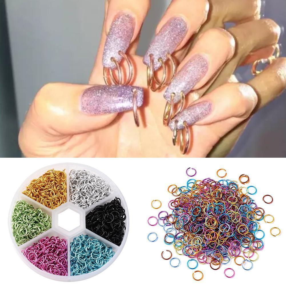 Подвеска для пирсинга, украшение для ногтей, подвески, блеск, 3D Стразы для ногтей, акриловое украшение, металлический сплав, дизайн, пирсинг, ...