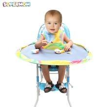 Детский коврик для стола, детское блюдце для кормления, чехол для стульчика для детей, чехол для стульчика, зародыши, предотвращает падение пищевых игрушек на пол