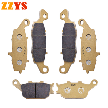 Motorcycle Front and Rear Brake Pads Set For Suzuki SV 400 GSF 650 Naked Bandit 650 GSR 750 SV 650 ABS Non ABS Brake Disc Pads image