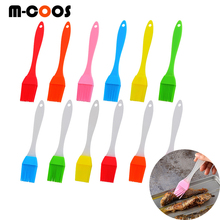 Barbecue Silicone Oil Brush Grill Tool Pastry Cookie Kitchen Cook Brush with Handle Baking BBQ Tools for BBQ Kitchen Accessories